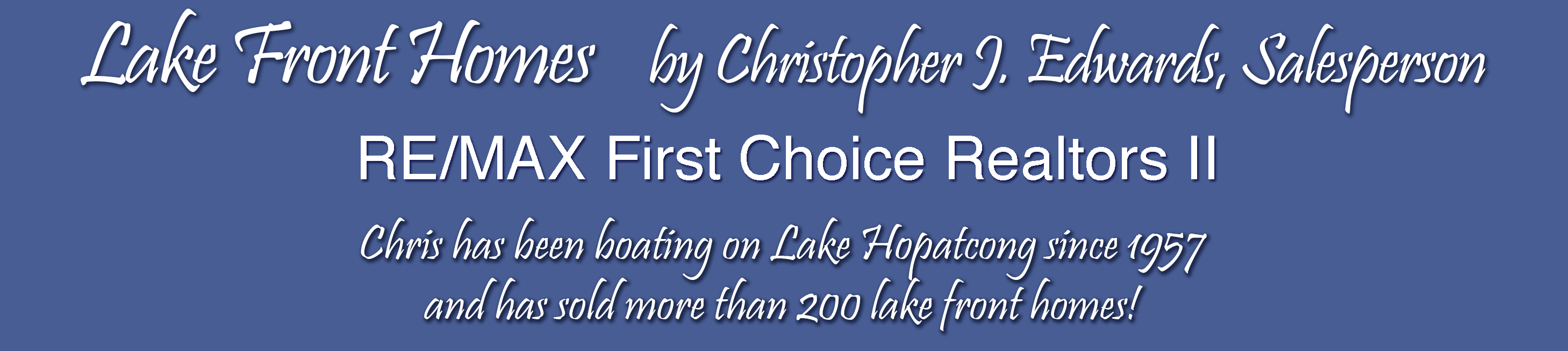 I Sell Lake Hopatcong